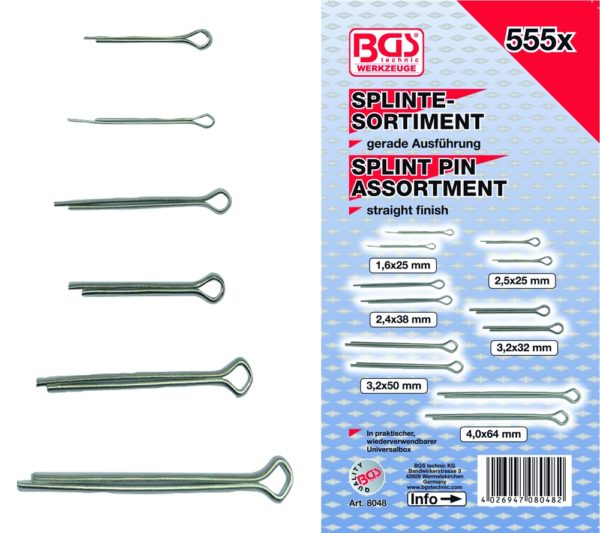 BGS Sasszeg készlet 555-részes BGS-8048