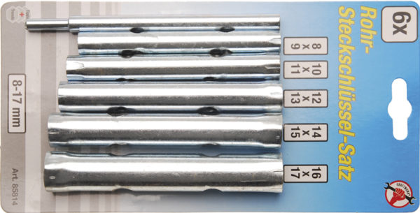 Csőkulcs készlet 8 – 17 mm BGS-85814