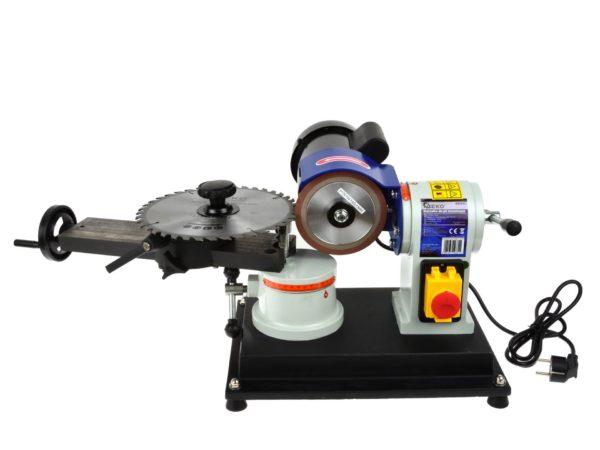 Geko körfűrészlap élező körfűrész tárcsa korong vídia élező 250W 80-700 mm G81022