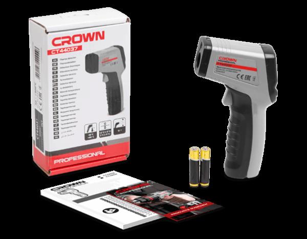 Crown Infrahőmérő infra hőmérő -50C-600C CT44037