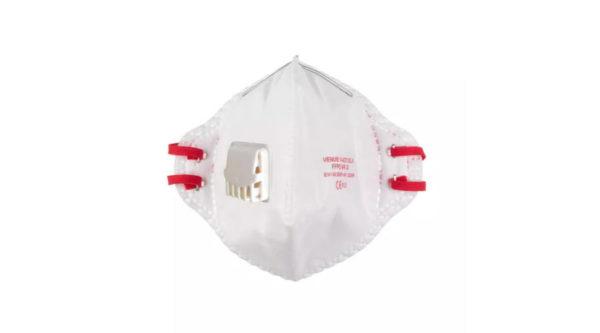 MILWAUKEE 15 db/doboz összehajtható FFP2 szelepes légzésvédő maszk 4932478801