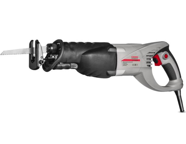 Crown Elektromos orrfűrész szablyafűrész szúrófűrész 1010W 250 mm ipari gép CT1513