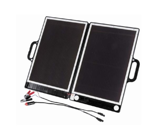 Hordozható napelemes generátor napelem töltő solar akkutöltő koffer 12V dobozsérült TPS-936ADS