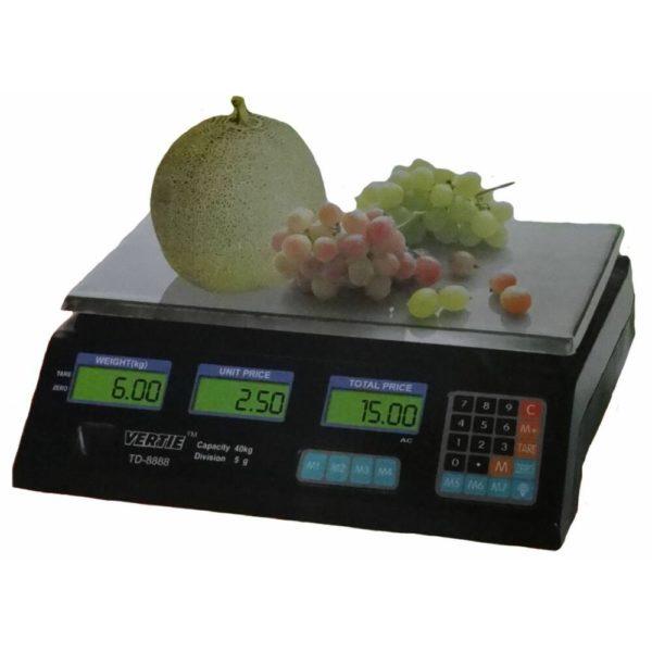 Vertie digitális mérleg 40 kg TD-8888