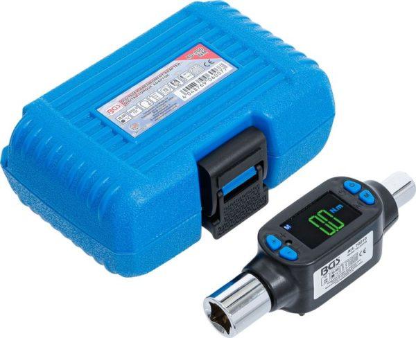 """BGS digitális nyomatékmérő adapter kijelzős nyomaték mérő adapter 1/2"""" 40-200Nm BGS-70210"""