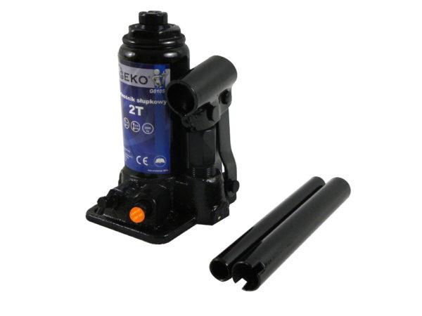 Geko hidraulikus emelő olajos emelő palackos emelő olajemelő dobozsérült 2t 148-278mm G01050DS